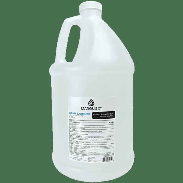 gallon hand sanitizer (Marquis)